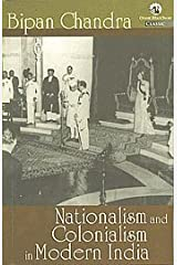Nationalism and Colonialism in Modern India Paperback