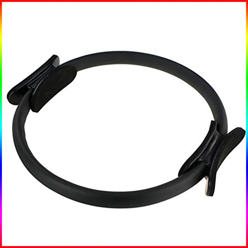 PopHMN Durable Fitness Circle Pilates, Professional Yoga Ring Fitness Circle Magic Circle Pilates Accessories for Home…