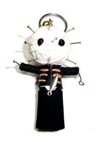 Pinhead From Hellraiser String Doll Keyring Keychain