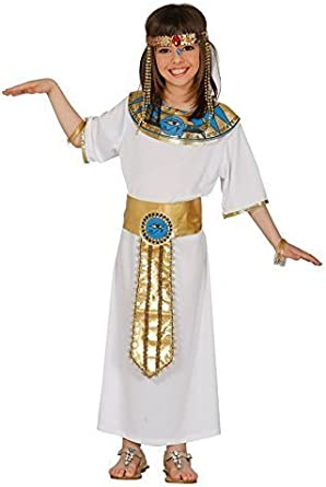 Girls Egyptian Cleopatra Ancient Queen Egypt Nile Book Day Fancy Dress Costume