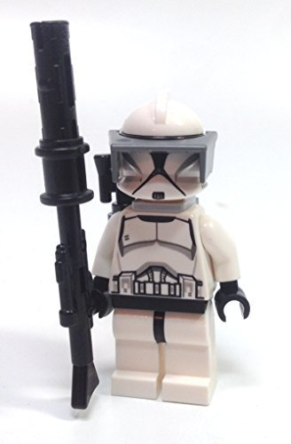 Best LEGO Star Wars Figure Packs Clone Trooper Sniper Mini Figure with Blaster Rifle, Visor, and Backpack