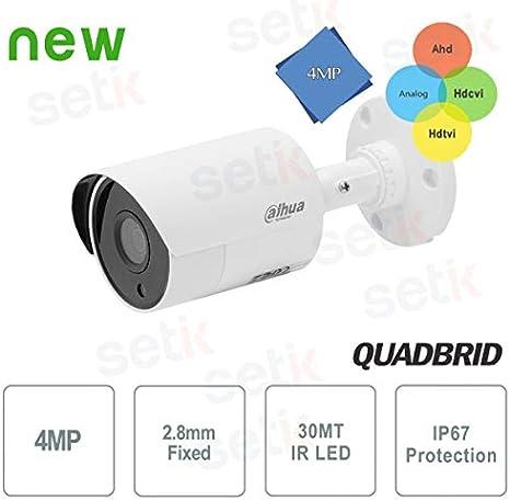 Opinión sobre Dahua Technology - Cámara Dahua 4 MP IR 4 en 1 HDCVI 2,8 mm de exterior - HAC-HFW1400SL