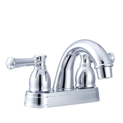 Dura Faucet DF PL620L CP Designer Arc Spout Rv Lavatory Faucet   Chrome  Polished