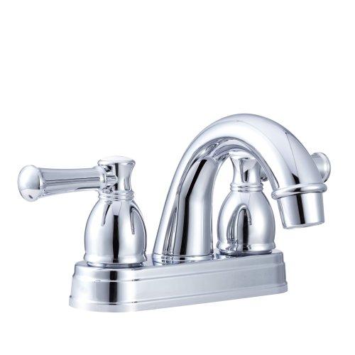 (Dura Faucet DF-PL620L-CP Designer Arc Spout Rv Lavatory Faucet - Chrome Polished )