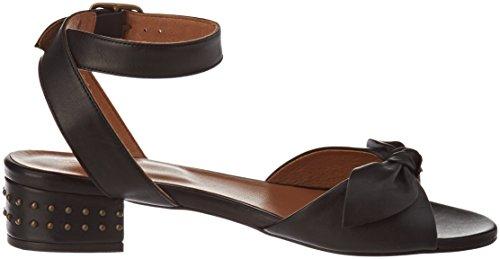 Noir Bride Beetle Ankle Femme Vega Black Sandales Schmoove Cheville 1xI07Uqcw