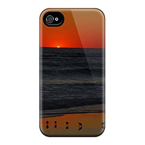 Hot Sunset Background First Grade Phone Cases For Iphone 6 Cases Covers