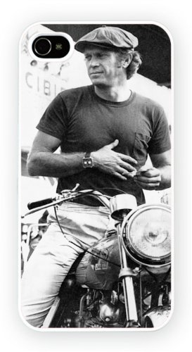Steve McQueen A Iconic Male Moviestars, iPhone 5 5S, Etui de téléphone mobile - encre brillant impression
