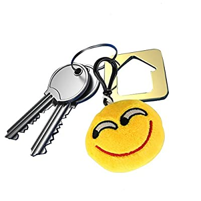 Emoji Keychain Party Supplies Favors by Time-killer Gift for Kids Students Christmas from Time-killer