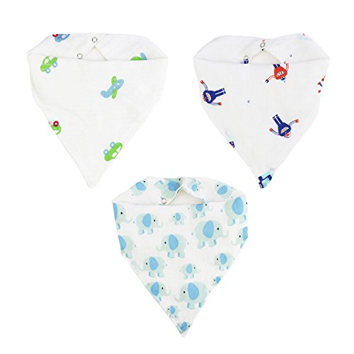 Baby Feeding Teething Bandana Christmas