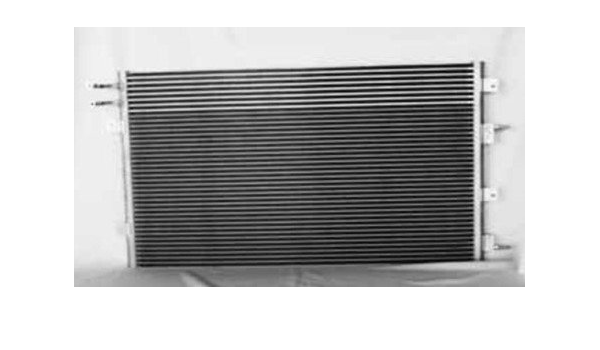 Rareelectrical NEW AC CONDENSER COMPATIBLE WITH 2011-2012 DODGE CHALLENGER 3.6L V6 5.7L V8 CHARGER 68085784AA 68085784AA CH3030244