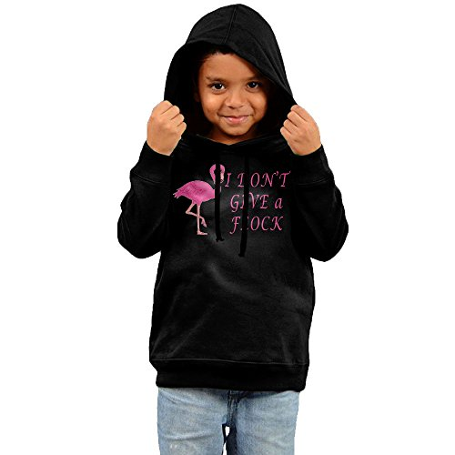Price comparison product image I Dont Give A Flock Flamingo Animal Lover Kids Print Athletic Pullover Drawstring Hoodie Hooded Sweatshirt 3 Toddler
