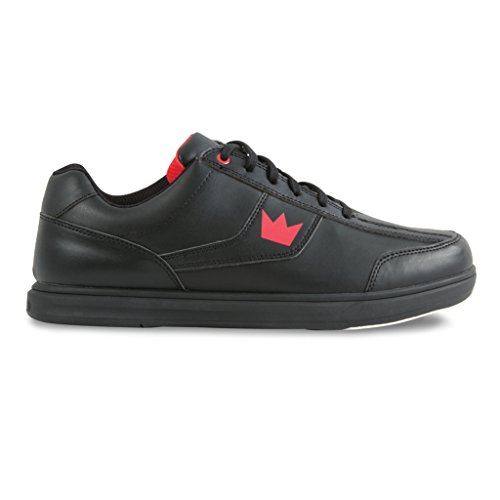 Men's Bowling Black Shoes Edge Brunswick 5YwAqOB