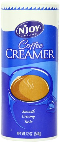 N'Joy Non Dairy Creamer Canister, 6 Count, 12 Oz