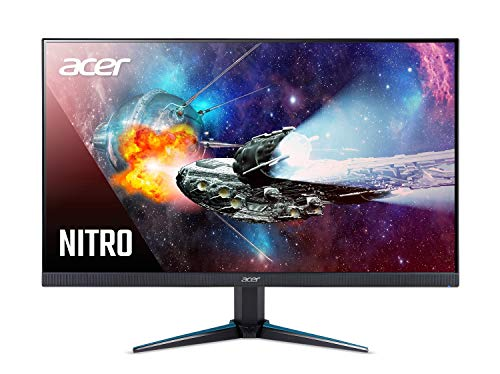 "Acer Nitro VG270K bmiipx 27"" 4K UHD (3840 x 2160) IPS Monitor with AMD Radeon FREESYNC Technology, HDR Ready, 1ms VRB, (2 x HDMI 2.0 Ports & 1 x Display Port)"