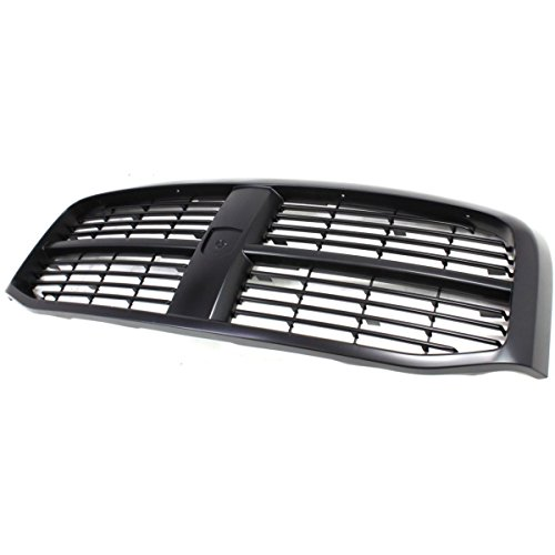 Diften 102-A7322-X01 - New Grille Assembly Gray shell black insert Dodge Ram Truck CH1200280 5JY121SPAC
