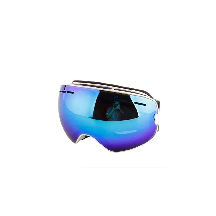 Ski Goggles,Double Anti Fog UV Protection,Anti Snow Blind,Sand Prevention,Increase Clarity Cross Country Mirror,Snowboarding Goggle,for Men Women Youth