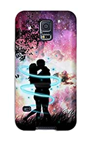 Megan S Deitz's Shop New Style New Arrival Cover Case With Nice Design For Galaxy S5- Beautiful Couples In Love Moon 8223865K92000684