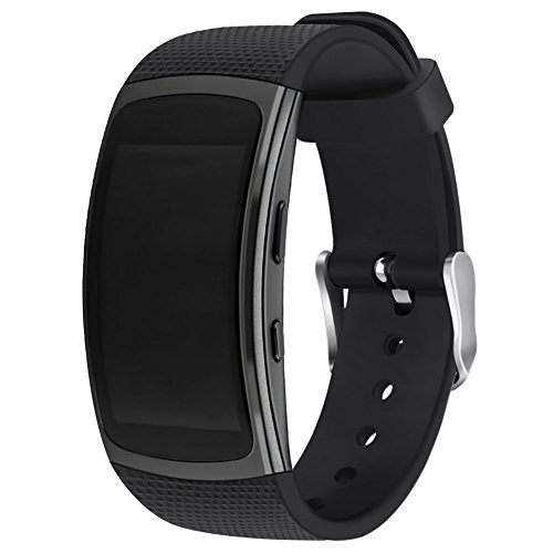 Compatible Samsung Gear Fit 2 Pro/Fit 2 Band, NaHai Silicone Replacement Strap Samsung Gear Fit2 Fit2 - Replacement Fit