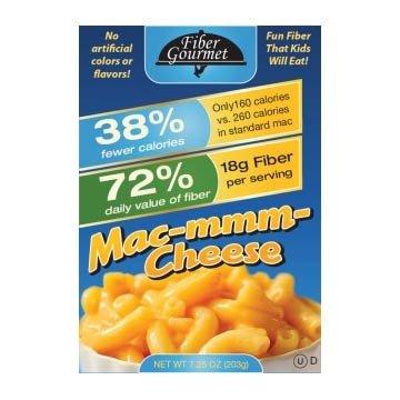 Fiber Gourmet Macaroni & Cheese Dinner Pack of 6