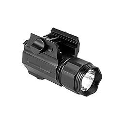 Compact Pistol Flash Light 150 LUMEN