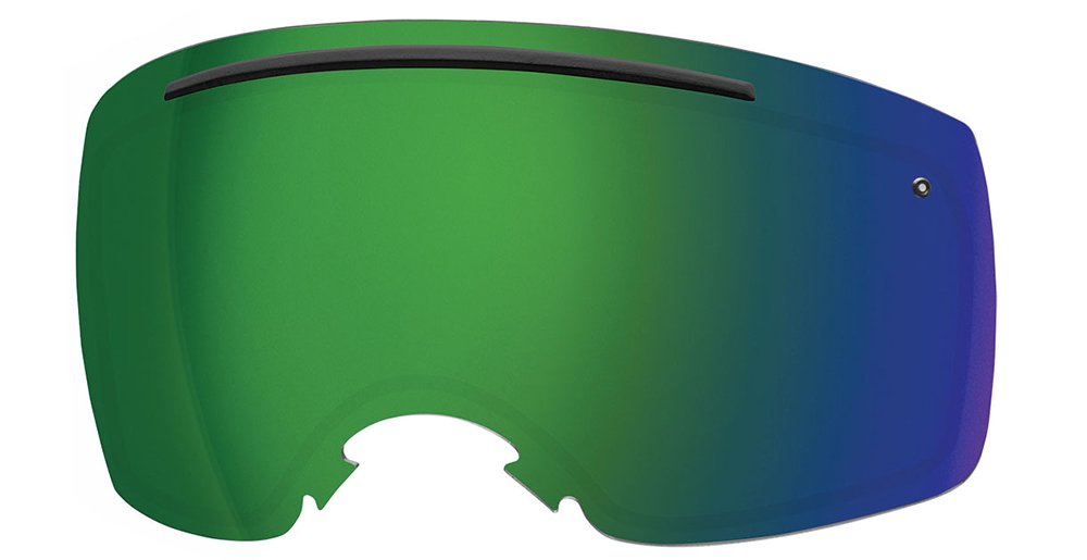 Smith Optics IO7 Men's Replacement Lens Eyewear Accessories - ChromaPop Sun Green Mirror by Smith Optics
