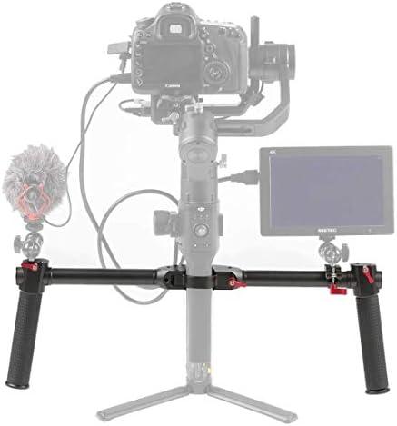 ビデオカメラ&ビデオアクセサリ DJI Ronin S Gimbal用のデュアルハンドグリップグリップアルミ合金スタビライザ (