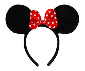 Licensed to Elope Inc Disney Minnie Mouse Costume Ears/Headband
