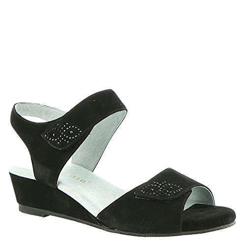 David Tate Queen Women's Sandal 6.5 B(M) US Black