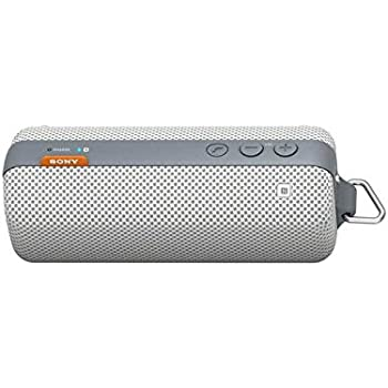 Sony SRSBTS50 Portable Splash-Proof NFC Bluetooth Wireless Speaker System (White - Discontinued by Manufacturer)