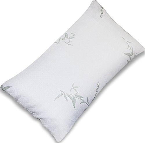 comfortable-shredded-memory-foam-pillow-with-bamboo-cover-queen-removable-case-by-utopia-bedding