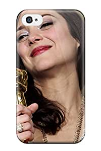New Diy Design Marion Cotillard Celebritiess For Iphone 4/4s Cases Comfortable For Lovers And Friends For Christmas Gifts