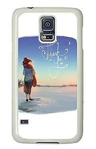 Brian114 Samsung Galaxy S5 Case, S5 Case - Customized White Hard Back Case Cover for Samsung Galaxy S5 Thank You Top Quality Hard Case for Samsung Galaxy S5 I9600