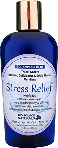 Stress Relief Body Mind Vibrational Remedy Lotion 3 8 Oz  Feeling Overwhelmed Made With Bach Flower Essences  Pure Essential Oils Essences  Gem Elixirs