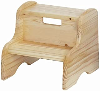 product image for Little Colorado Unfinished Wooden Step Stool