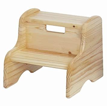 Little Colorado Unfinished Wooden Step Stool  sc 1 st  Amazon.com & Amazon.com: Little Colorado Unfinished Wooden Step Stool: Toys u0026 Games islam-shia.org