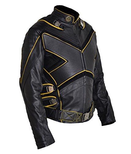 HLS American X-Men X Wolverine Leather Jacket PS XXS-5XL Cow Hide Black Brown