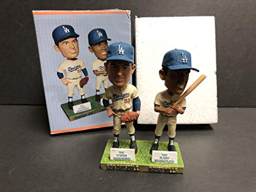 Don Drysdale & Maury Wills ~ 2012 Los Angeles Dodgers Bobble Bobblehead SGA ()