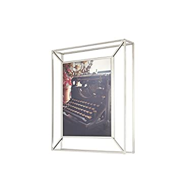 Umbra Matrix Metal Picture Frame, 8 by 10-Inch, Nickel
