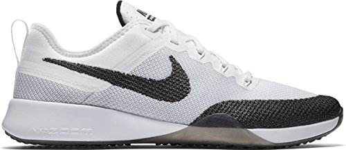 Womens Mesh NIKE White Trainers Dynamic Zoom Black Air dTIqIZ