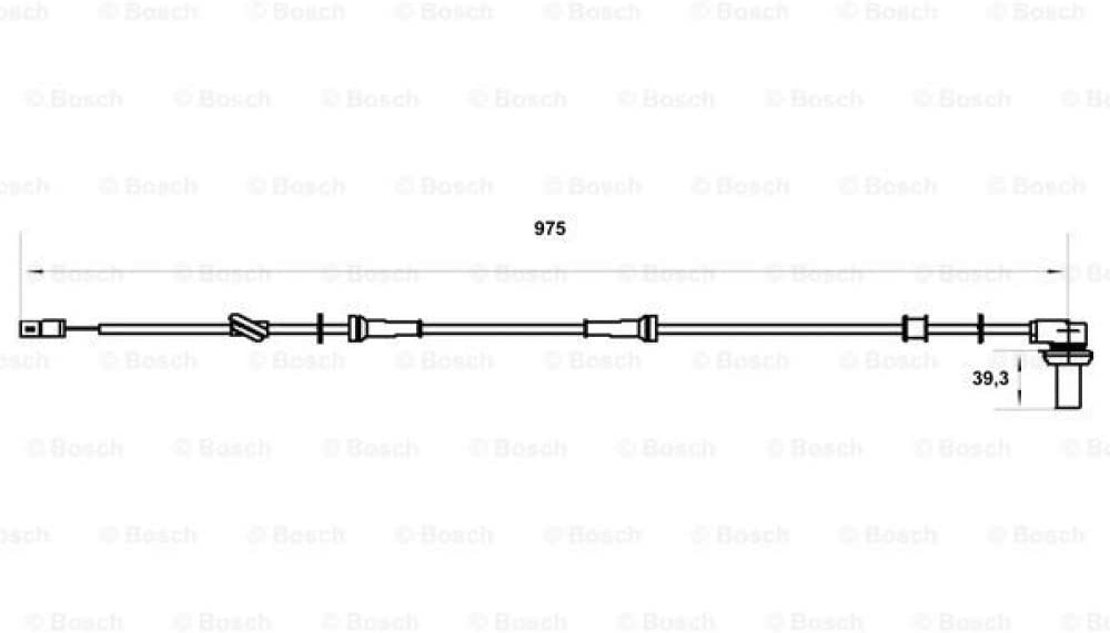 Bosch 986594005 Raddrehzahlsensor