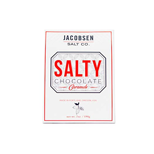 - Jacobsen Salt Co. Salty Chocolate Snacking Candy, 7 Ounce