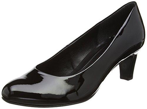 Donna black Ht Vesta Scarpe Tacco 2 Nero Patent Con Gabor xzX06qwnAA