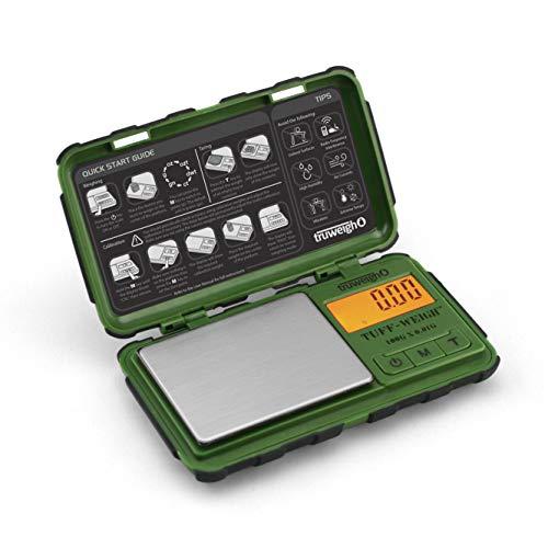 TUFF-WEIGH Digital Mini Scale 100g x 0.01g Green / Black ()