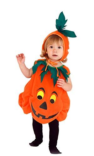 wlsomegoo Halloween Children Toddlers Orange Cosplay Infant Pumpkin Baby Clothes Hat ()