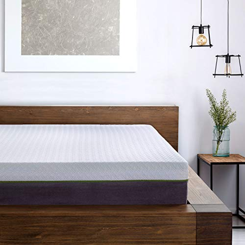 12 Inch California Split King Copper Infused Cool Memory Foam Mattress Developed for Adjustable Bed Bases with Medium Firm Feel Support and CertiPUR-US Certified