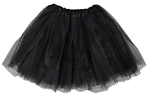 Women's Classic Elastic, 3-Layered Tulle