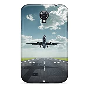 High Quality ConnieJCole Plane Skin Case Cover Specially Designed For Galaxy - S4