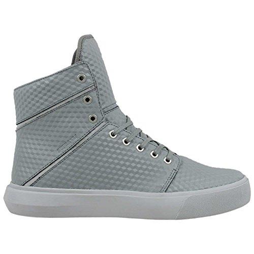 Supra Hombres Camino Zapatos Gray Lightgrey