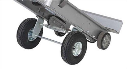 Wesco 274140 Power Liftkar SAL Stair Climbing Ergo Frame Hand Truck, Pneumatic Tire, 240-lb. Capacity, 18-1/2'' Width x 63'' Height