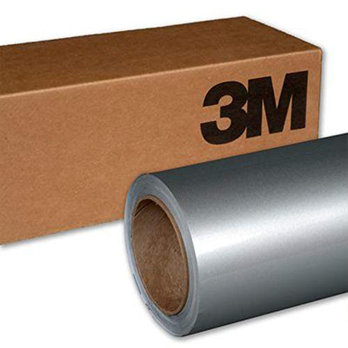 3M 1080 G120 GLOSS WHITE ALUMINUM 5ft x 1ft (5 Sq/ft) Car Wrap Vinyl Film